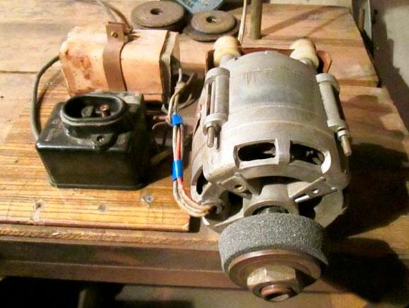 Как сделать из электродвигателя от стиральной машины 542