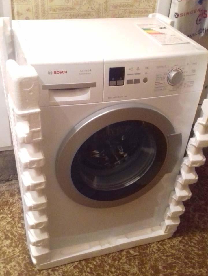 Доставка стиральной машины
