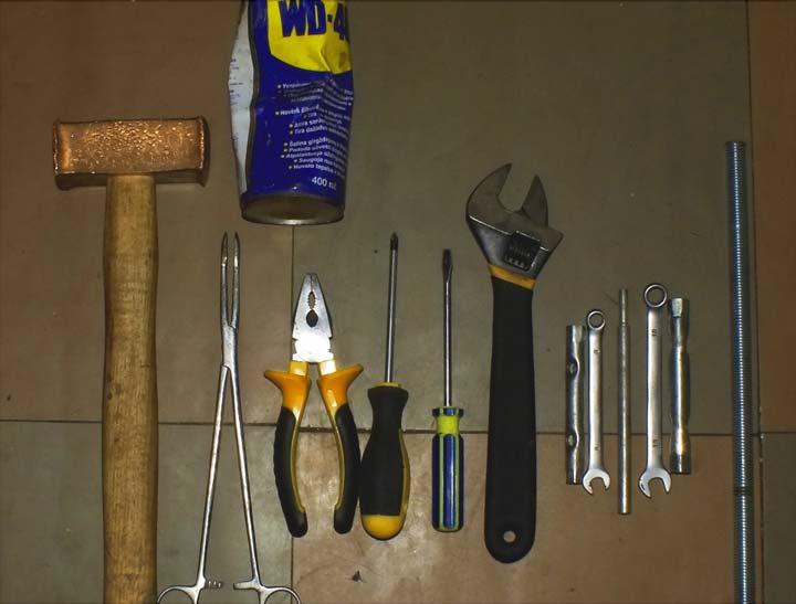 Инструменты для разборки стиралки Индезит