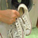 Как стирать кеды в стиральной машине автомат: режим и температура