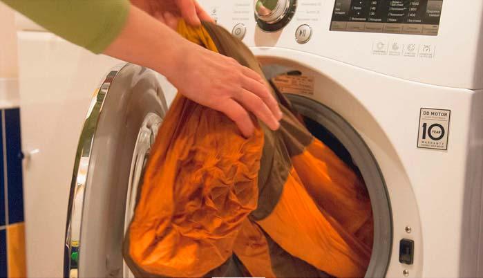 Стирка одежды из мембранной ткани в стиральной машине
