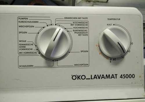 AEG OKO LAVAMAT 45000- инструкция