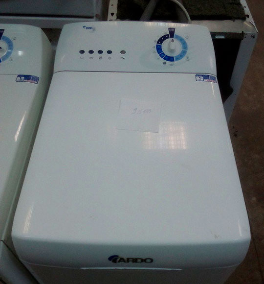 ardo tl800ex- стиральная машина