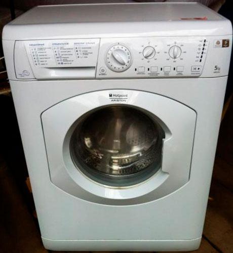 Интсрукция стиральной ariston arsl 85