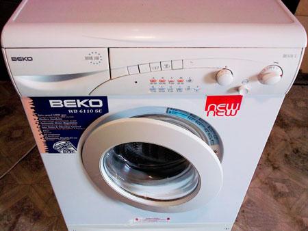 beko wb 6110 se- инструкция стиральной