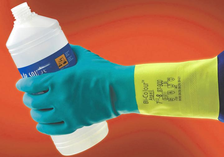 Работаем в перчатках
