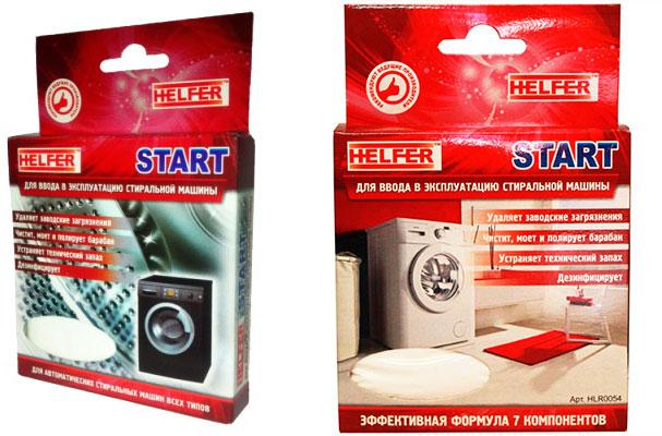 Порошок для первого запуска Helfer Start HLR0054