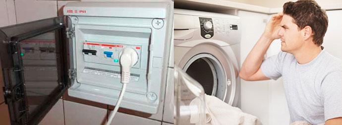 Розетка, вилка и не работает стиральная машина