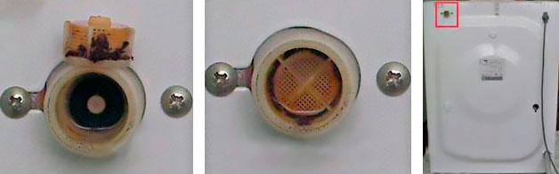 Засорение заливного клапана стиралки