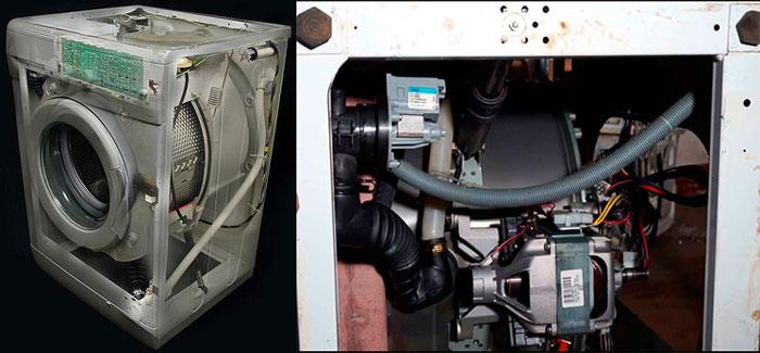Разборка и ремонт насоса стиральной машины