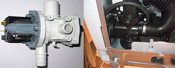 Замена или ремонт насоса стиралки