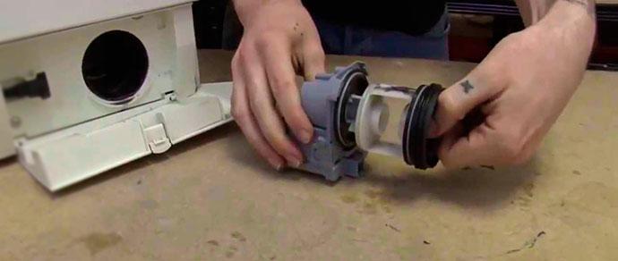 Насос из стиральной машине ремонтируется