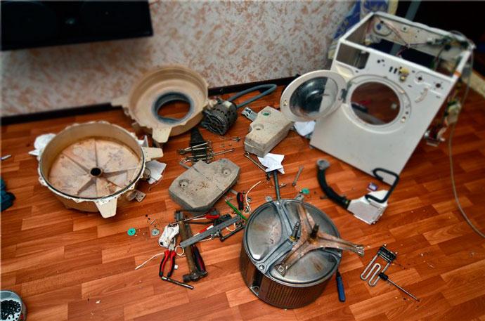 Разобрать и починить подшипник стиральной машины