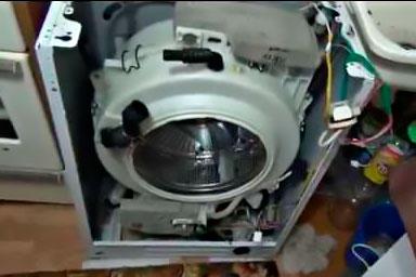 Самсунг стиральной машины ремонт своими руками подшипник фото 100