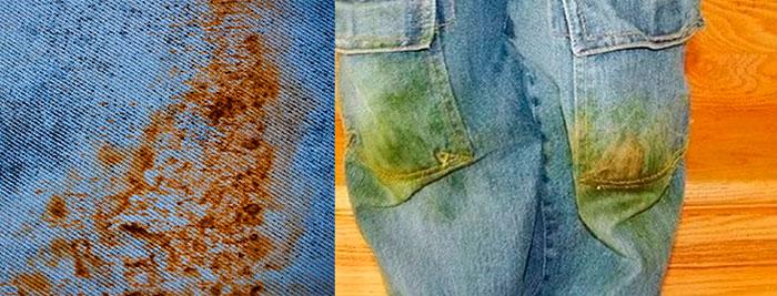 Что может вывести ржавчину с одежды в домашних условиях