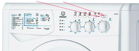 Кнопки стиральных машин