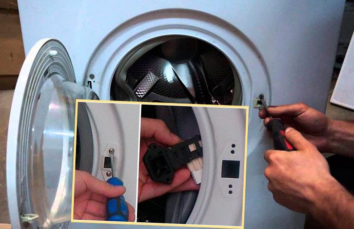 Ремонт блокировки барабана в стиральной машине