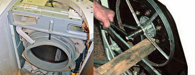 Разборка стиральной машины барабана