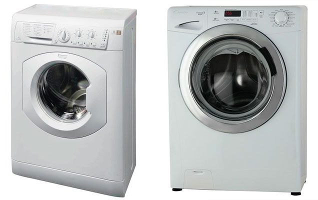 Hotpoint-Ariston ARUSL 105 и Candy GV34 126TC2