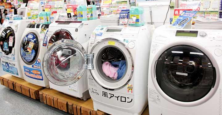 Где купить японские стиральные машины