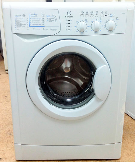 Indesit WISL 83 - инструкция стиральной