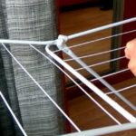 Как починить сушилку для белья напольную своими руками? +Видео