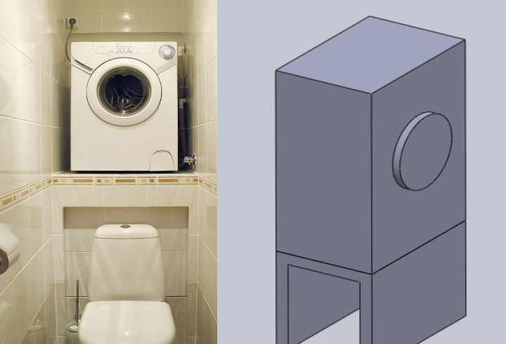 Большой вопрос - вам нужна подставка для стиральной машины?
