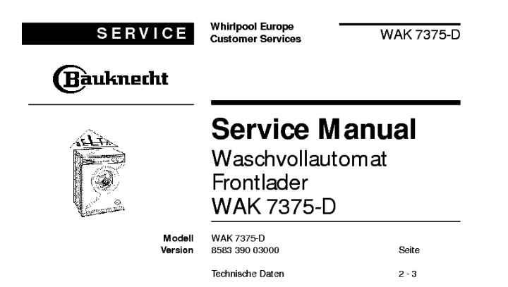 Отзывы о модели WAK 7375