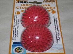 Важно: при применении любых покупных шариков для стирки, ознакомьтесь с инструкцией.