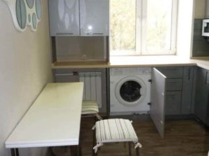Где установить стиральную машину в маленькой квартире. Полезные советы